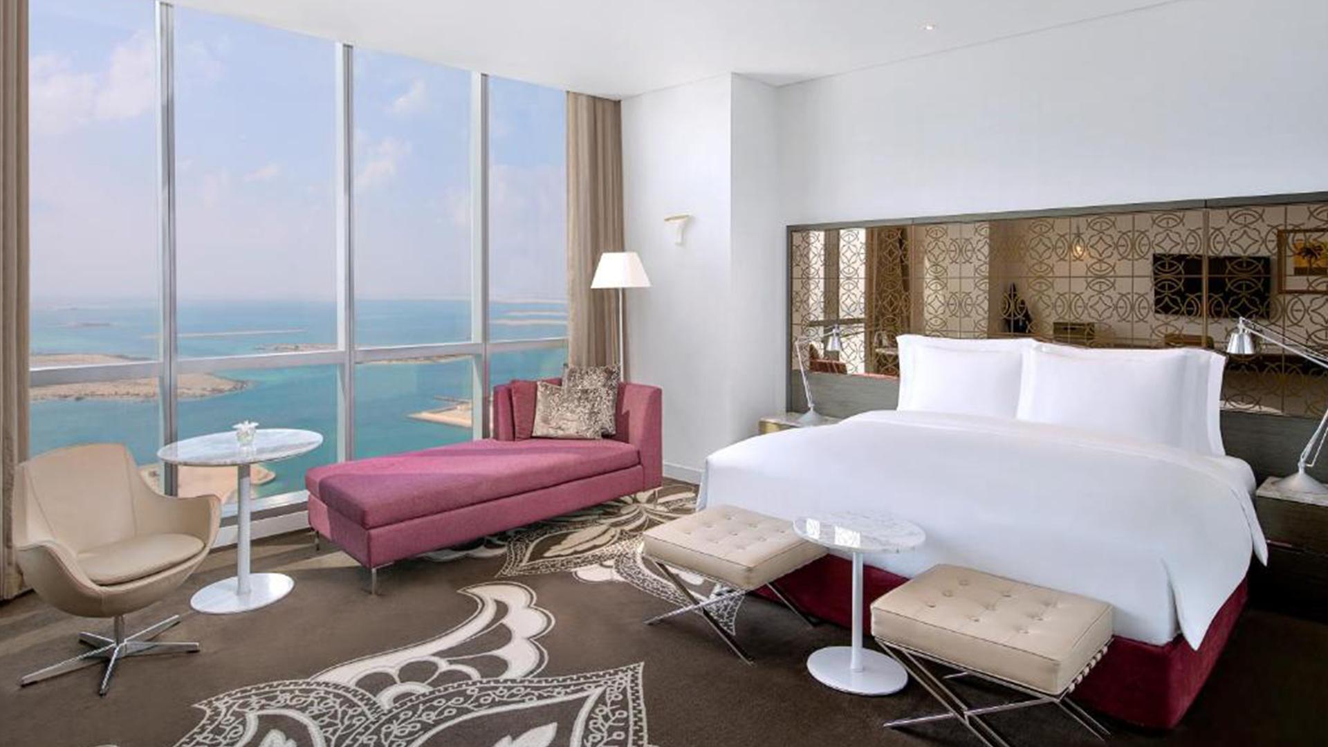 King Grand Premier Room with Sea View image 1 at Conrad Abu Dhabi Etihad Towers by null, Abu Dhabi, United Arab Emirates