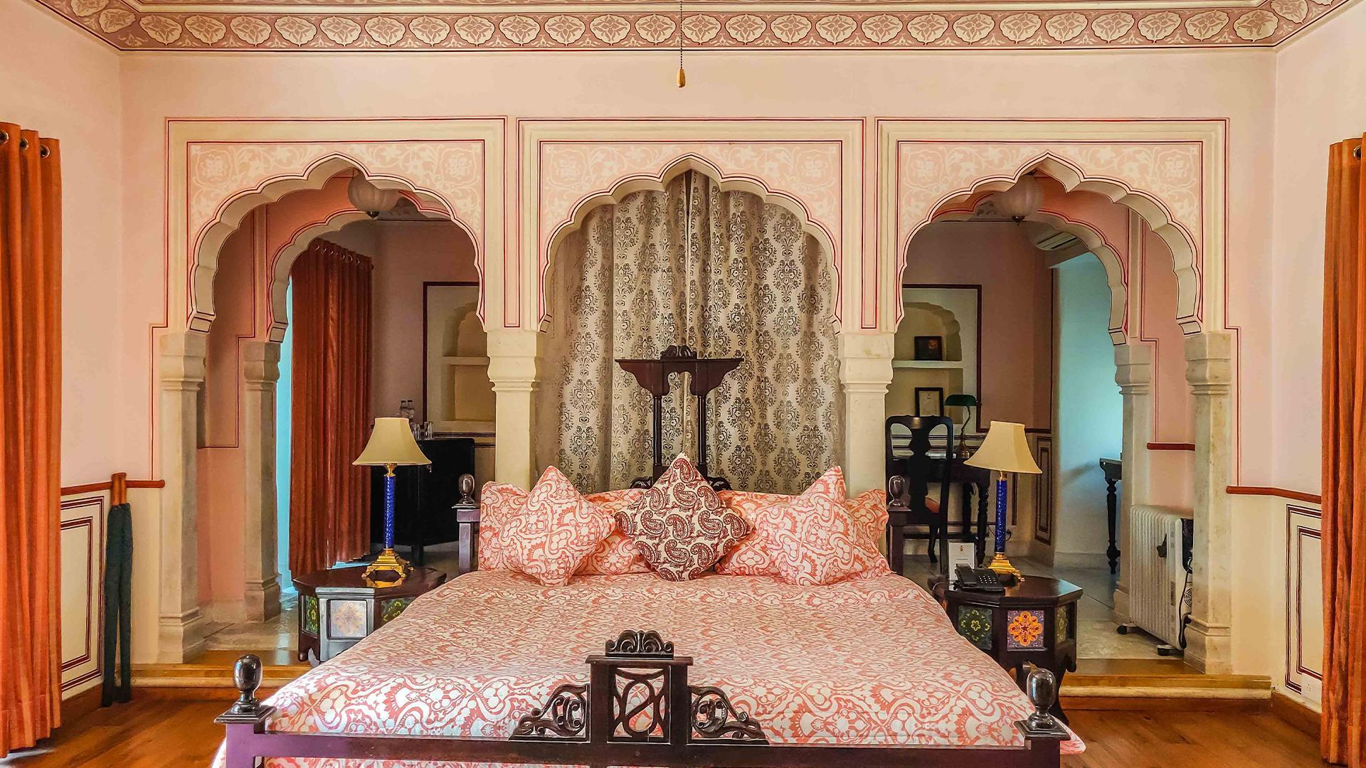 Heritage Premium Suite image 1 at Royal Heritage Haveli by Jaipur, Rajasthan, India