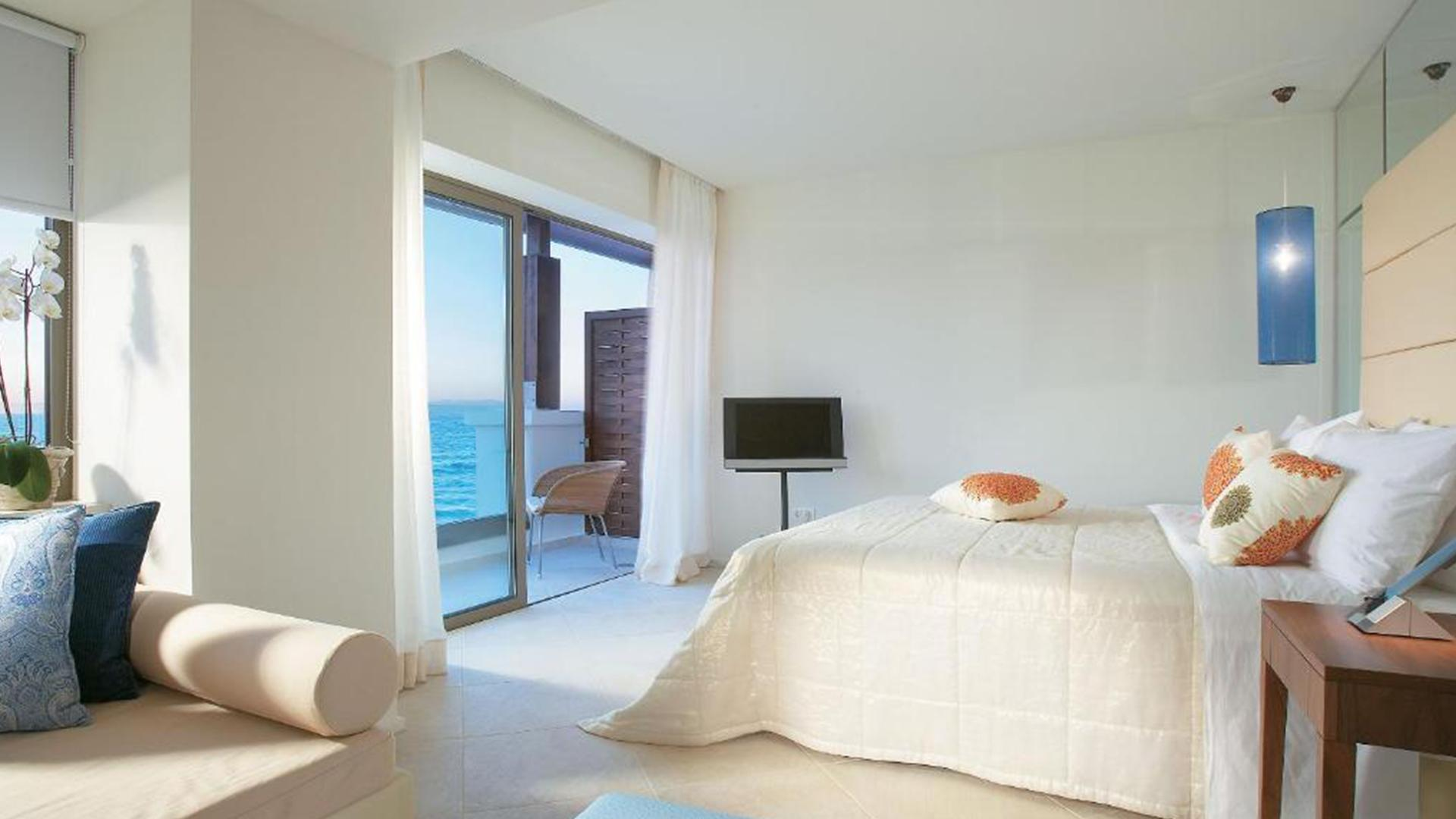 Luxury Sea View Room image 1 at Amirandes Grecotel Exclusive Resort by null, null, Greece