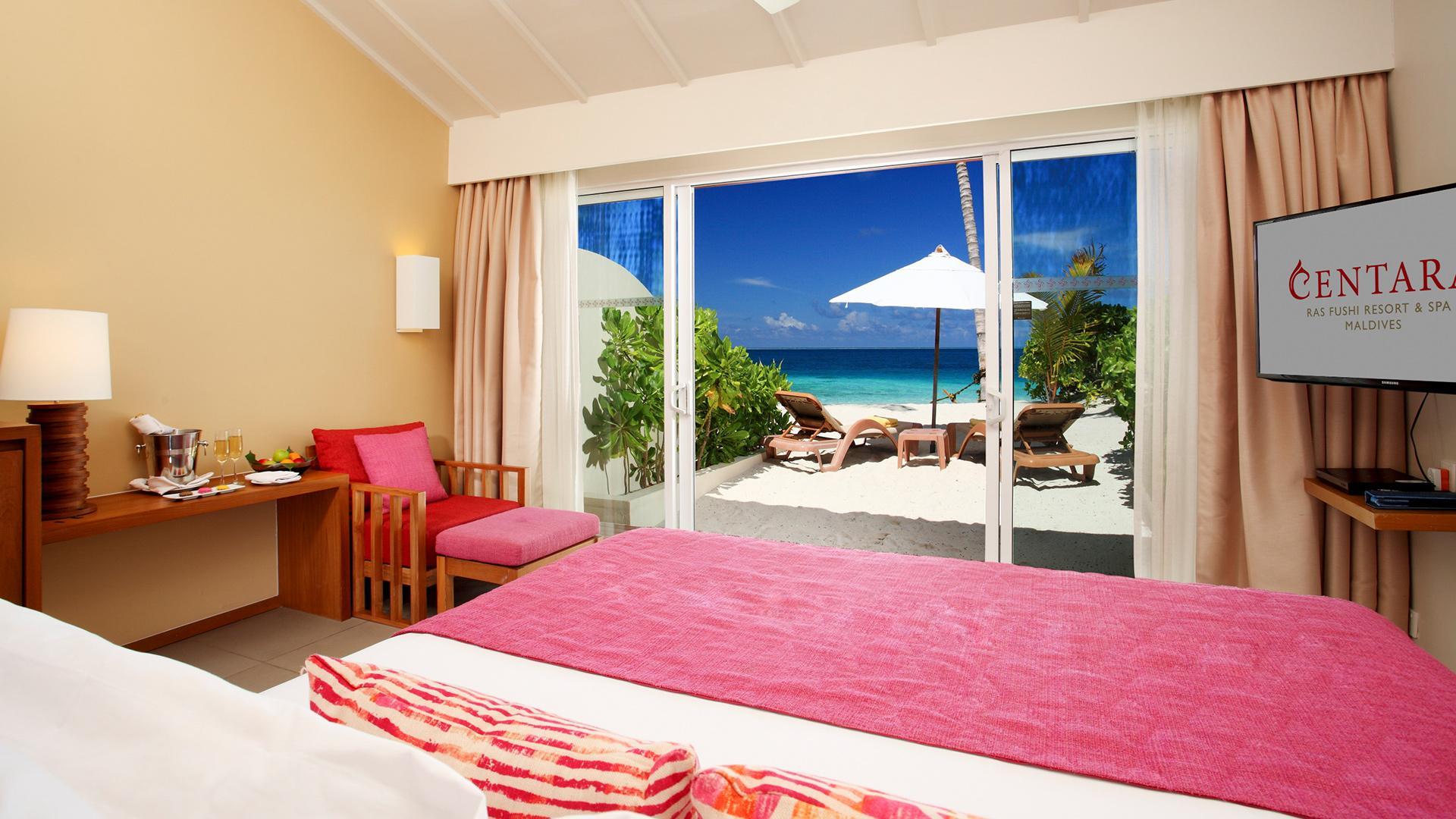 Oceanfront Beach Villa image 1 at Centara Ras Fushi Resort & Spa Maldives by Kaafu Atoll, null, Maldives