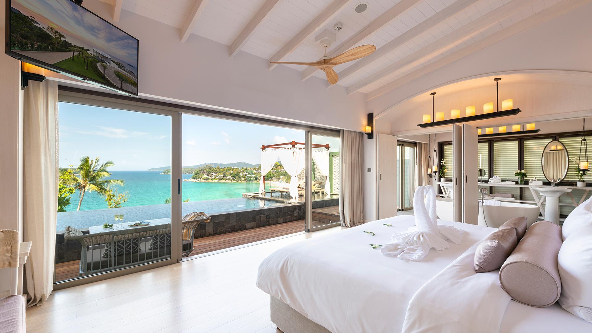 Sea View Pool Villa Romance image 1 at The Shore at Katathani by Amphoe Mueang Phuket, Chang Wat Phuket, Thailand