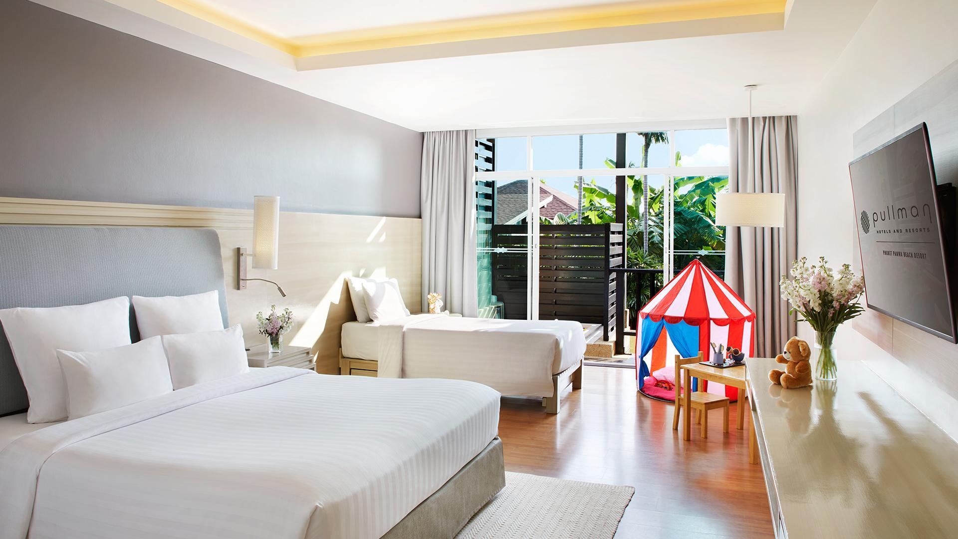 Deluxe Family Room image 1 at Pullman Phuket Panwa Beach Resort by Amphoe Mueang Phuket, Chang Wat Phuket, Thailand