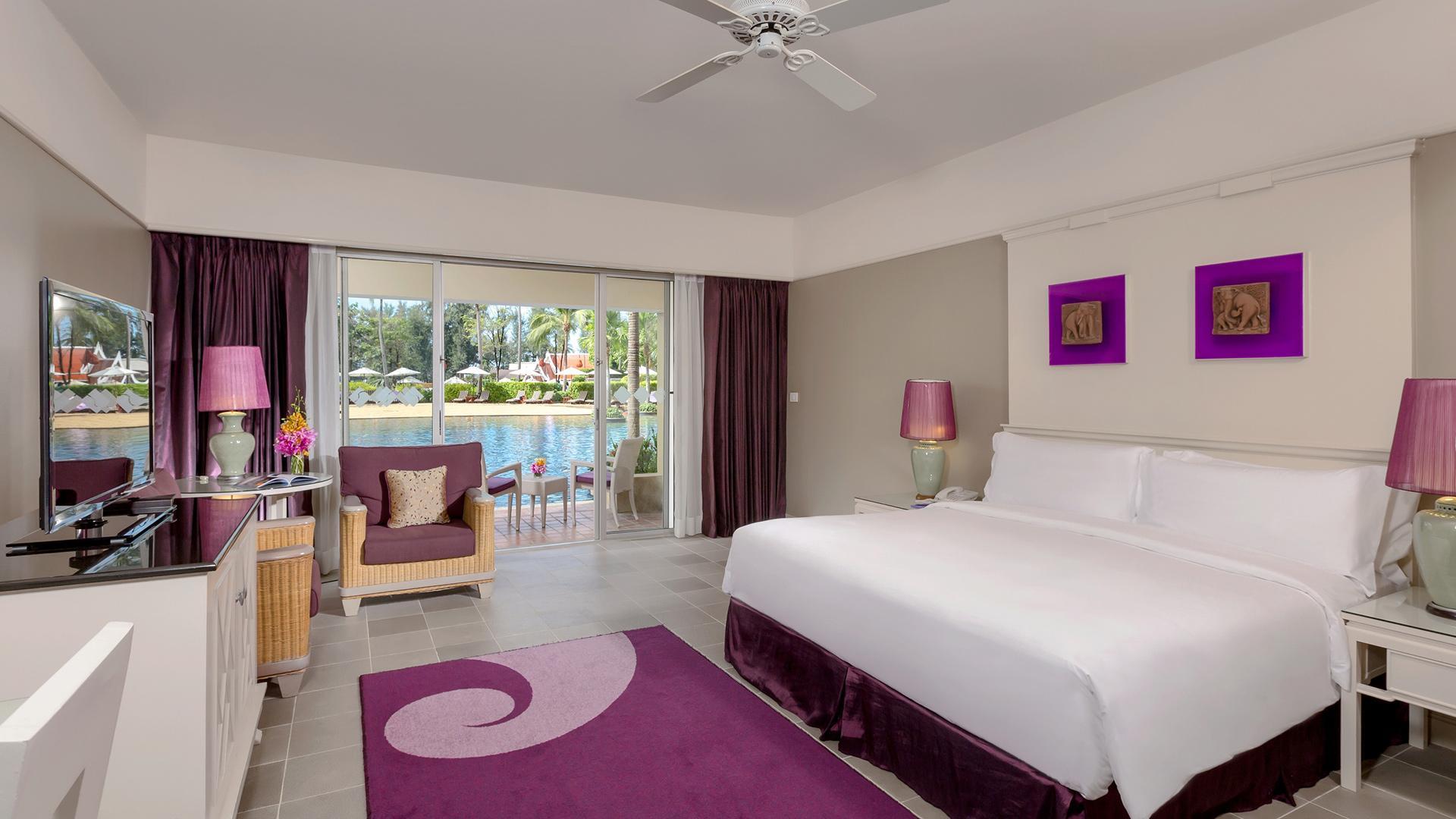 Laguna Poolside Room image 1 at Angsana Laguna Phuket by Amphoe Thalang, Chang Wat Phuket, Thailand