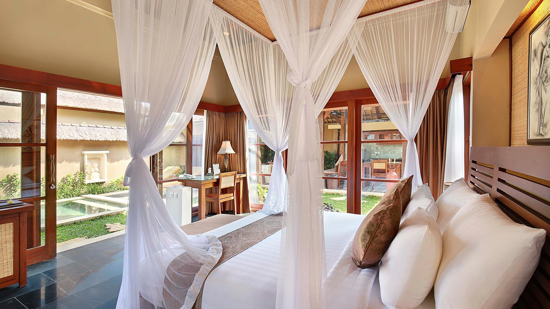 Two-Bedroom Deluxe Pool Villa image 1 at Ubud Nyuh Bali Resort & Spa - Older by Kabupaten Gianyar, Bali, Indonesia