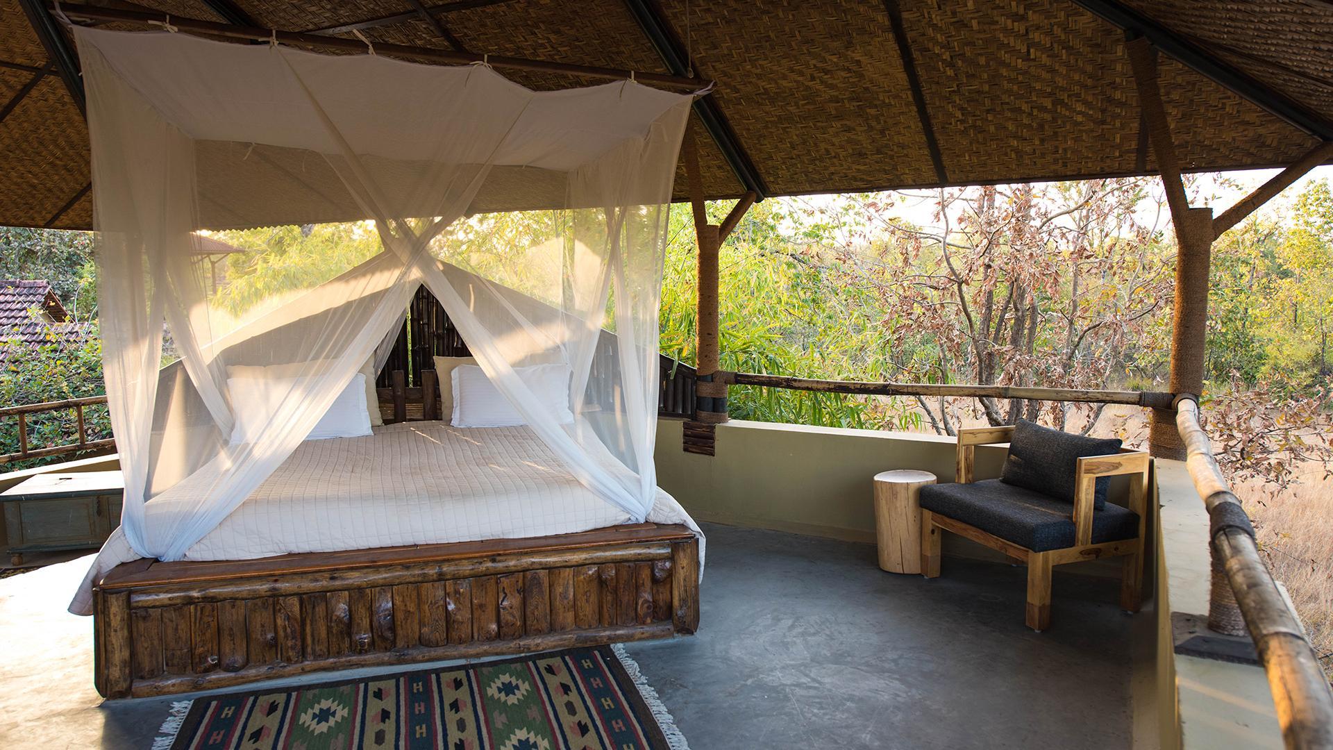AC Machan Cottage Room image 1 at Forsyth Lodge by Hoshangabad, Madhya Pradesh, India