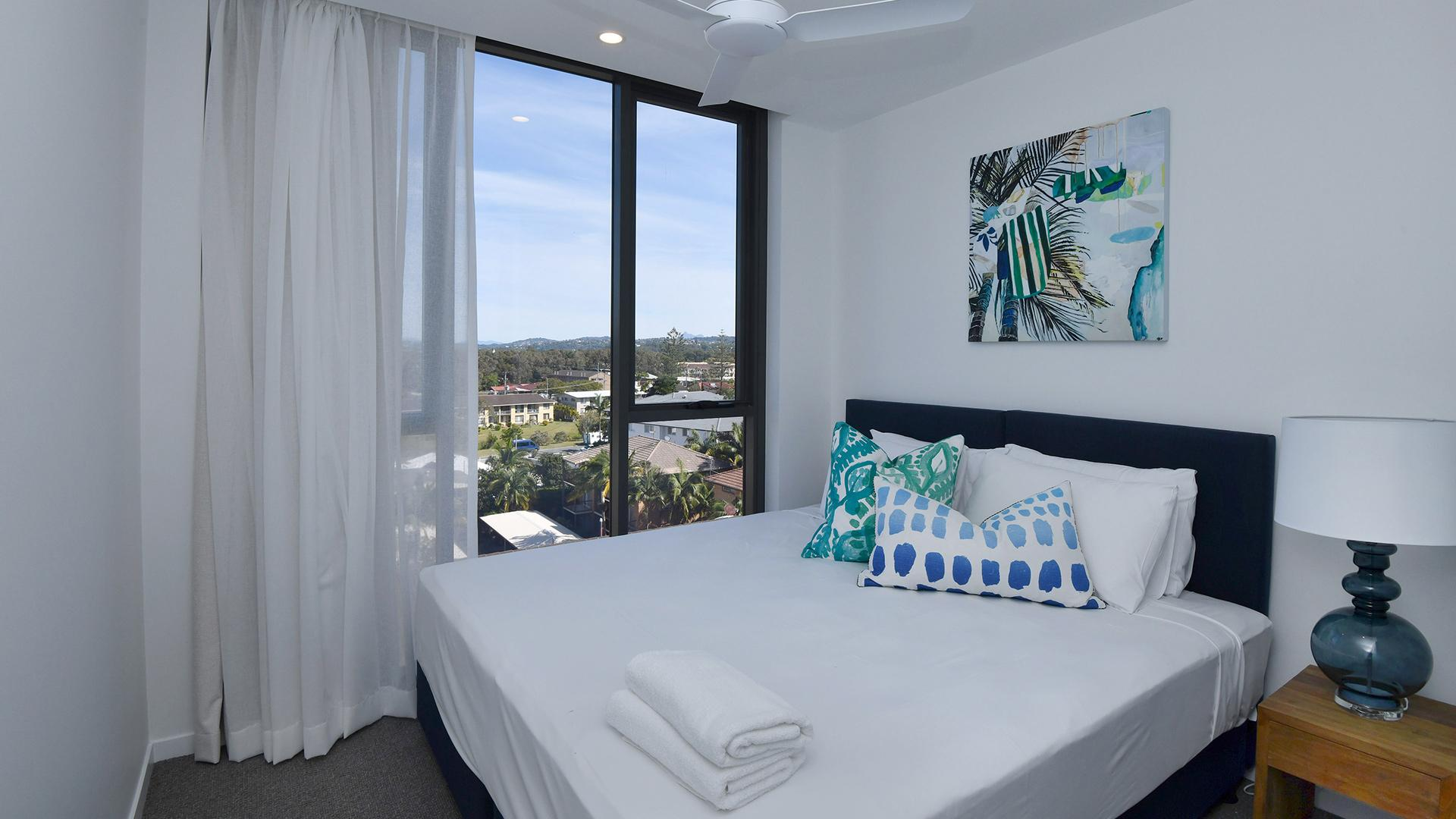 Two Bedroom Panoramic Ocean View Apartment image 1 at X Kirra Apartments by City of Gold Coast, Queensland, Australia